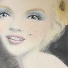 Marilyn Monroe by Loulieart