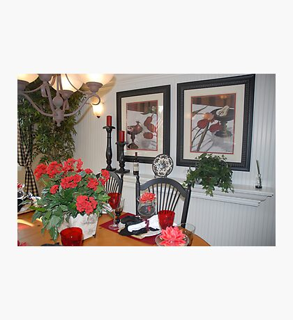 French Country Dining Room Photographic Print