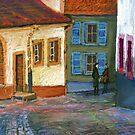 Germany Baden-Baden Old Street by Yuriy Shevchuk