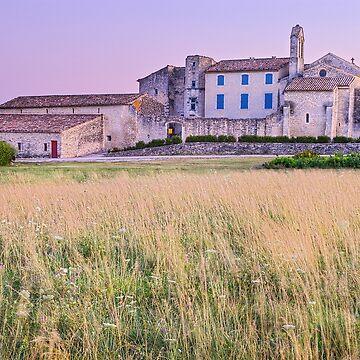 Dusk on Salagon - Provence by patmo