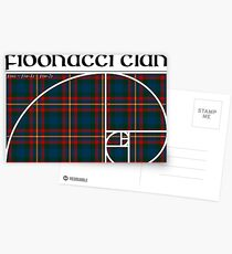 Fibonacci Clan Postcards