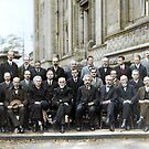 The most intelligent picture ever taken: Participants of the 5th Solvay Conference on Quantum Mechanics, 1927. 17 of the 29 attendees were or became Nobel Prize winners. by Marina Amaral