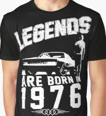 Legends Are Born In 1976 Graphic T-Shirt