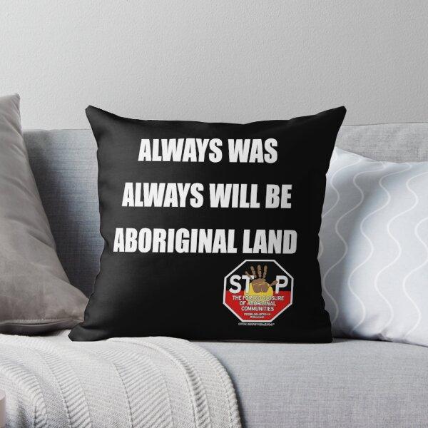 OFFICIAL MERCHANDISE - #SOSBLAKAUSTRALIA design 9 Throw Pillow