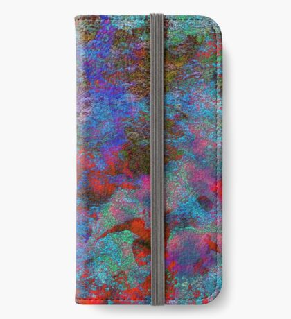 Paw Prints Intermingle iPhone Wallet