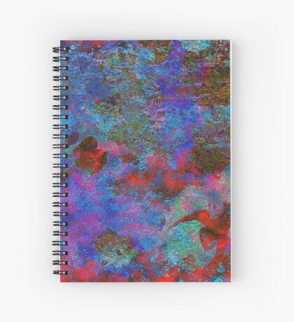 Paw Prints Intermingle Spiral Notebook