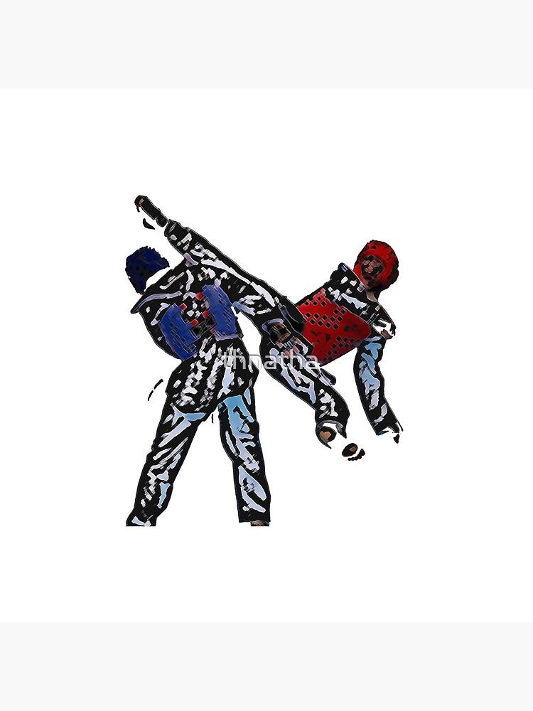 Taekwondo-Kämpfer von thnatha