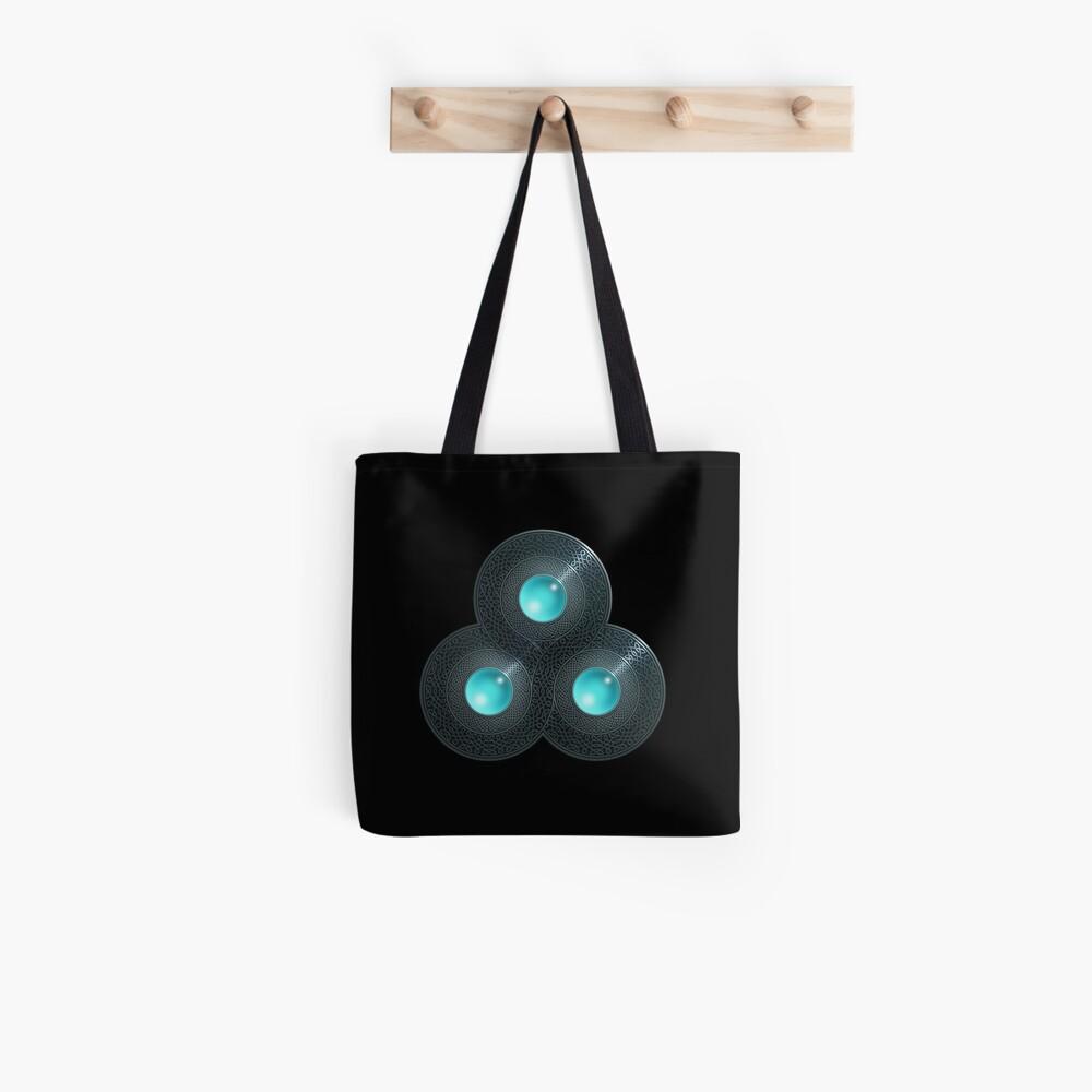 Triple Celt Tote Bag