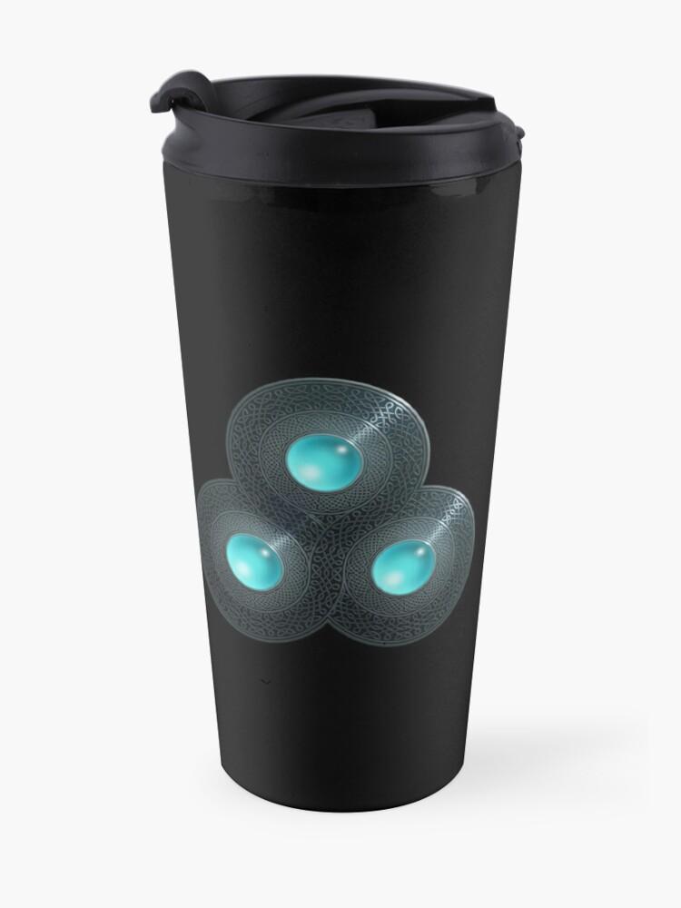 Alternate view of Triple Celt Travel Mug