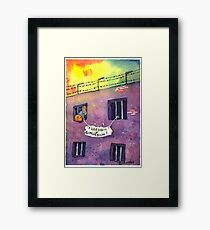 Freedom of Expression Framed Print