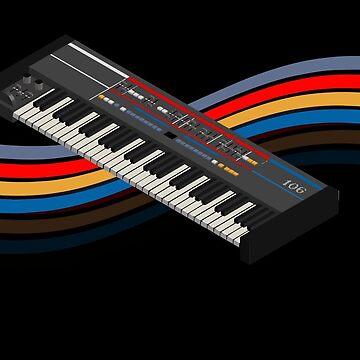 synthesizer juno106 isometric chorus by mewzeek-T