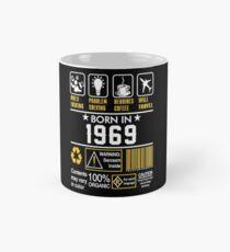 Birthday Gift Ideas - Born In 1969 Classic Mug