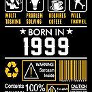 Birthday Gift Ideas - Born In 1999 by wantneedlove