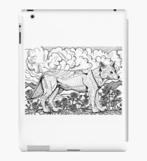 Rose And Wolf iPad Case/Skin