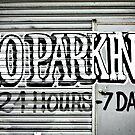 No Parking Graffiti by yurix