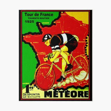 TOUR DE FRANCE; Vintage Cycle Racing Advertising Print Art Board Print