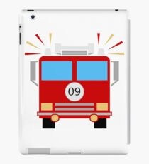 Red Fire Engine iPad Case/Skin