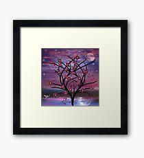 Fantasy Flower Tree V.2 Framed Print
