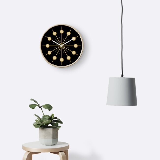 clock face — golden circles by C-N-Designs