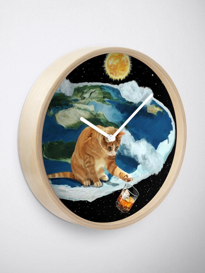 Alternate view of If The Earth Was Flat V01 Clock