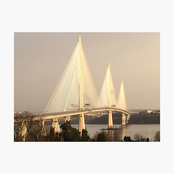 Queensferry Crossing Photographic Print