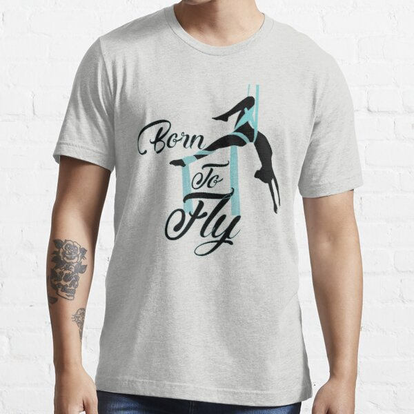 Aerial Yoga Design - Aerial Yoga Art - Aerial Yoga Stuff Essential T-Shirt