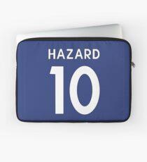 Eden Hazard Chelsea FC shirt Illustration  Laptop Sleeve