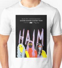 Haim Concert Poster Unisex T-Shirt