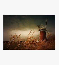 Horsey Mill, Norfolk Photographic Print