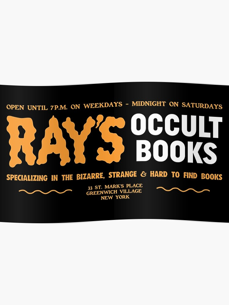 Ray's Occult Books - Specializing In The Bizarre | Poster