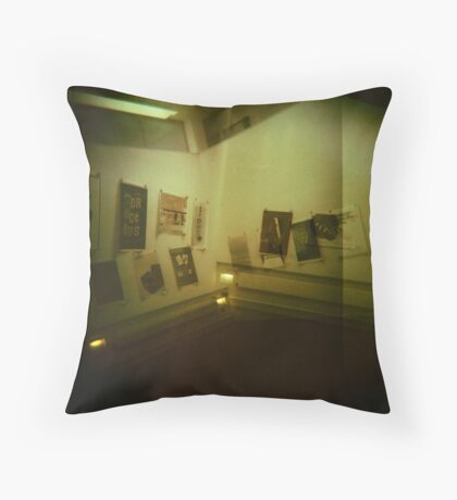 If you learn to relax and wait for the answer Throw Pillow