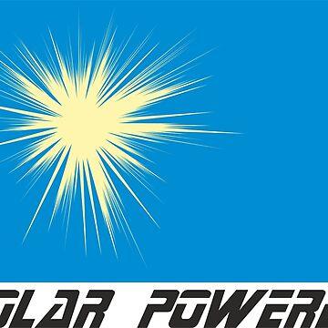 All solar powered & clean energy Men Woman design by dereinst