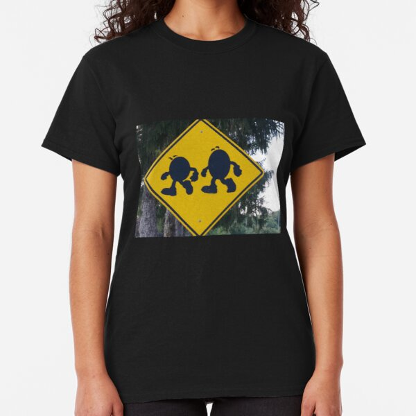 Beware - M&Ms crossing..... Classic T-Shirt