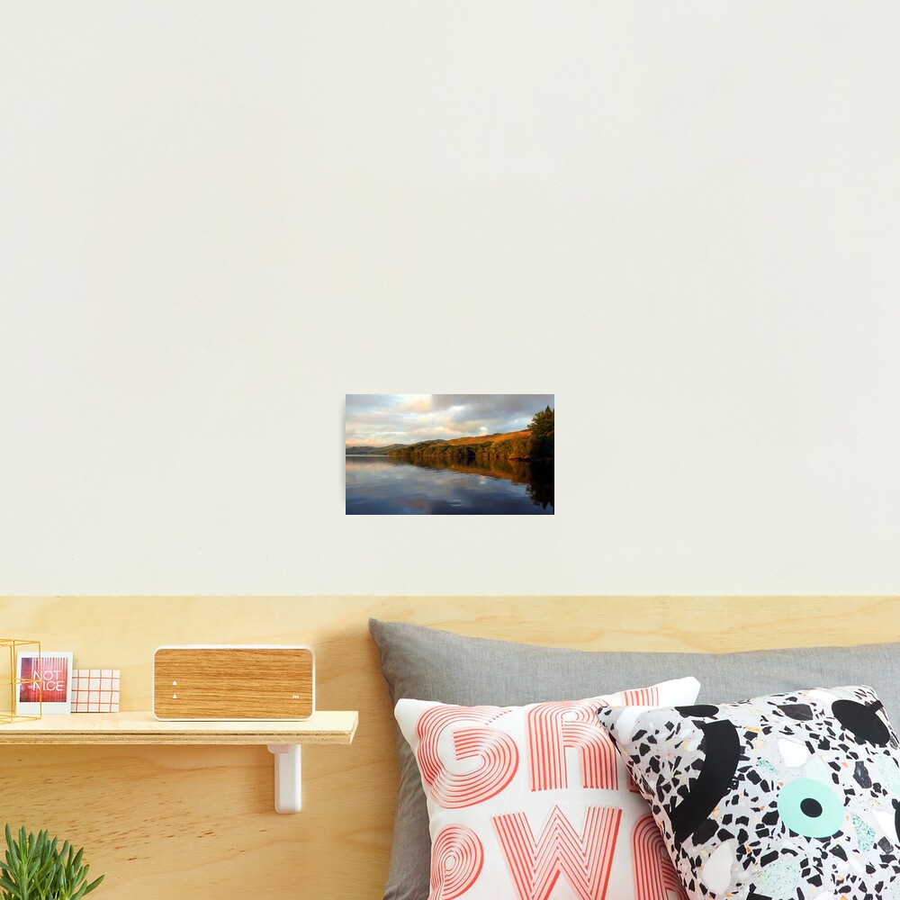 Loch  Awe Reflections Photographic Print