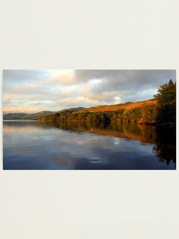 Alternate view of Loch  Awe Reflections Photographic Print