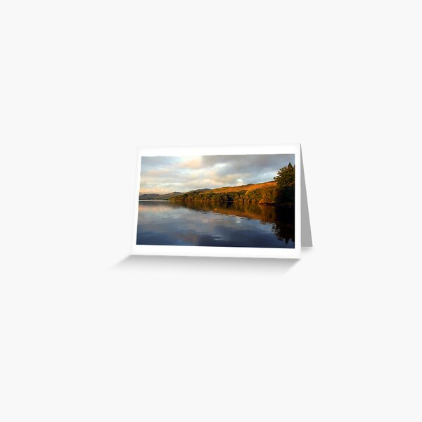 Loch  Awe Reflections Greeting Card