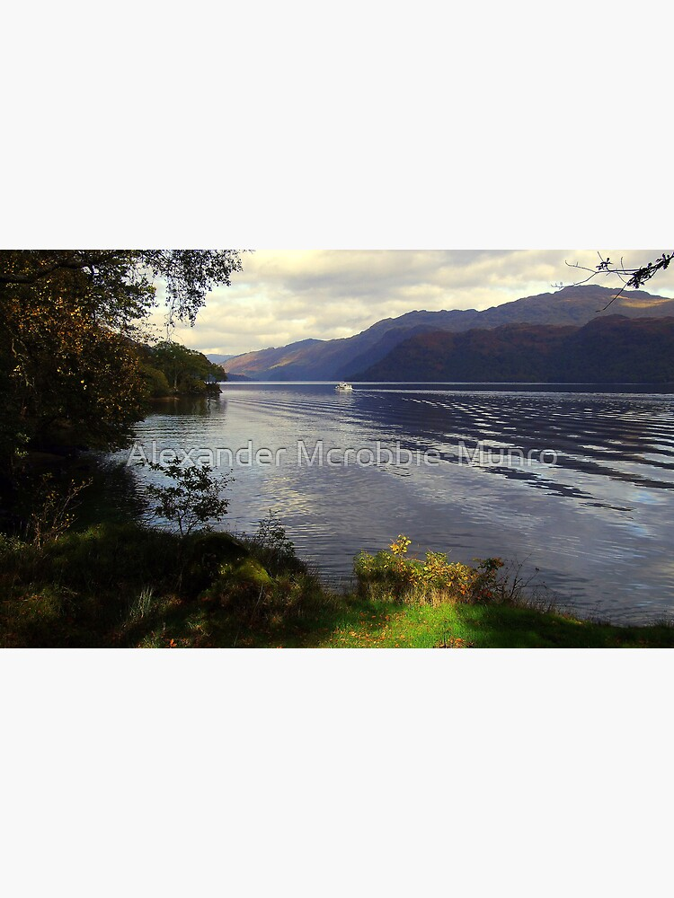 Cruise  Loch  Lomond by Alexanderargyll