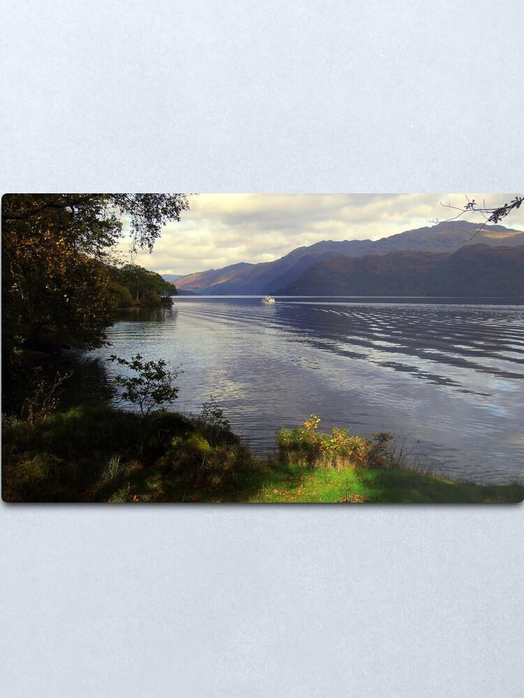 Alternate view of Cruise  Loch  Lomond Metal Print