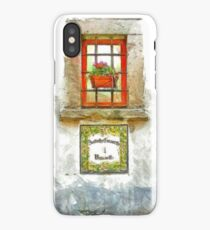 Window with flower pot iPhone Case
