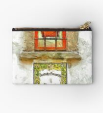 Window with flower pot Studio Pouch
