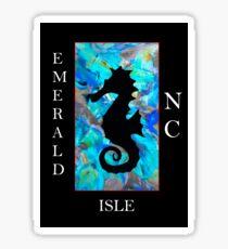 Seahorse (Emerald Isle, NC) Sticker