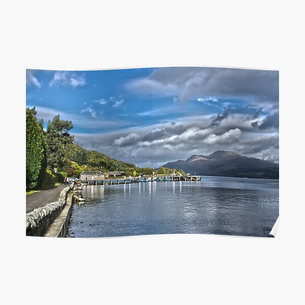 Luss Loch Lomond Poster
