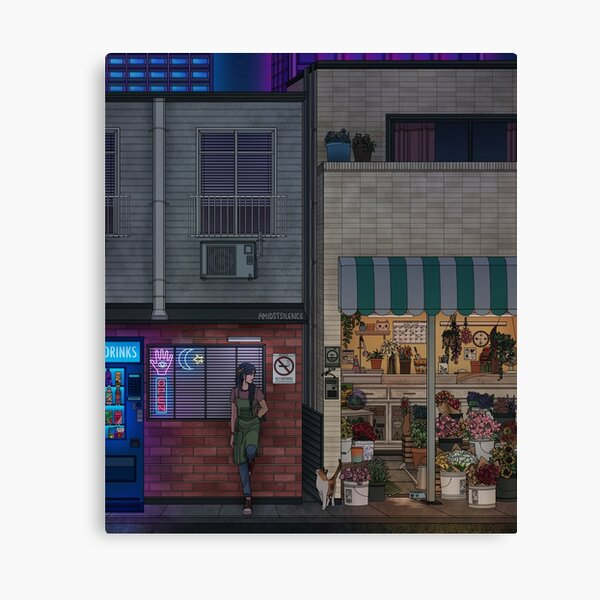 Night Shift Canvas Print