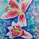 Lilies by FrancesArt
