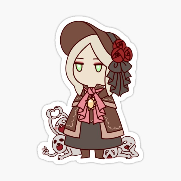 Plain Doll Sticker