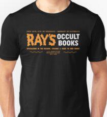 Camiseta unisex Los libros ocultos de Ray: especializados en lo extraño