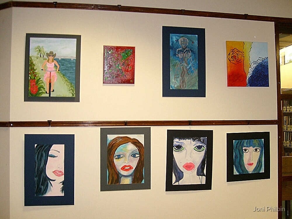 Solo Art Exhibition:  Mayo As My Muse II by Joni Philbin