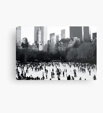 Wollman Rink, Central Park, New York City Metal Print