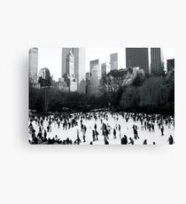 Wollman Rink, Central Park, New York City Canvas Print