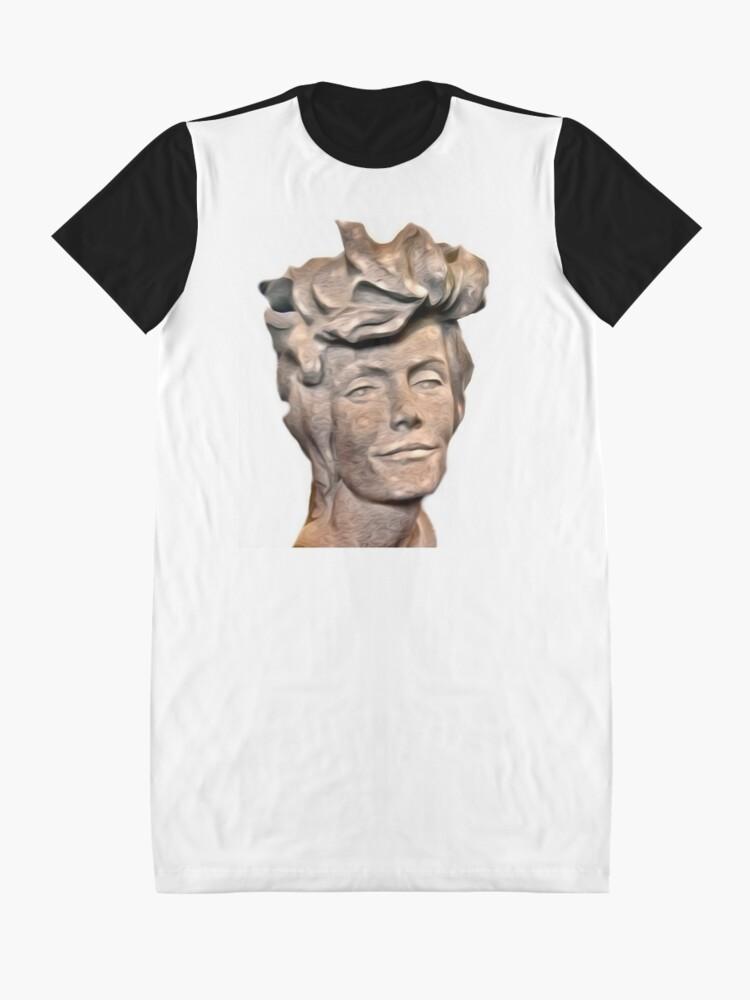 Vista alternativa de Vestido camiseta DR. SYLVIA EARLE I PRESUME ...